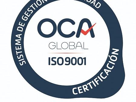CERTIFICADOS UNE-EN ISO 9001:2015 Y 14001:2015